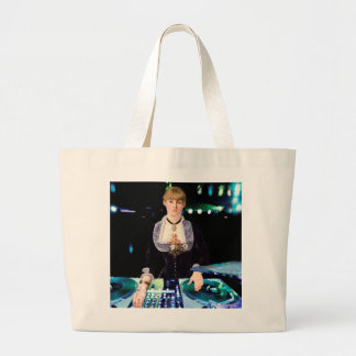 A DJ at the Folies-Bergère Large Tote Bag