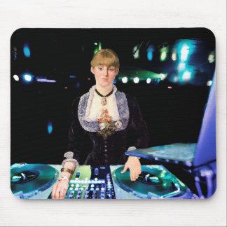 A DJ at the Folies-Bergère Mouse Mat