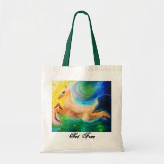 A Doe Set Free Grocery Tote Budget Tote Bag