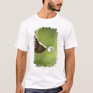 A dog and a dandelion. T-Shirt