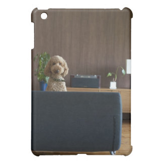 A dog in the riving room iPad mini cover