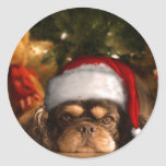 A Dog Is For Life Not Just For Christmas Round Sticker