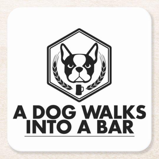 A Dog Walks Into a Bar - Black