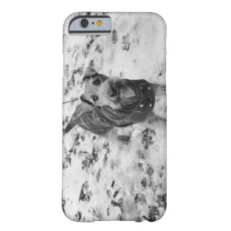 A dog wearing a jacket. barely there iPhone 6 case