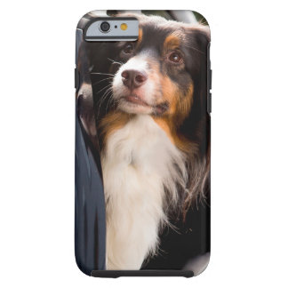 A Dog With Her Head Out of a Car Window Tough iPhone 6 Case