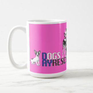 A Dog's Day Rescue Logo Coffee Cup Mugs