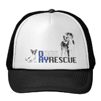 A Dog's Day Rescue Logo Trucker Hat