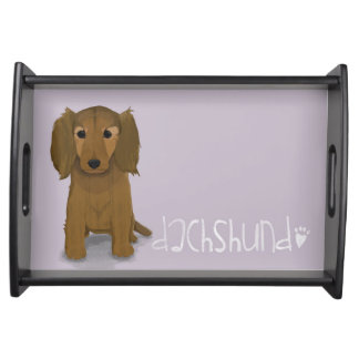 A Dogs Life - Dachshund Serving Tray
