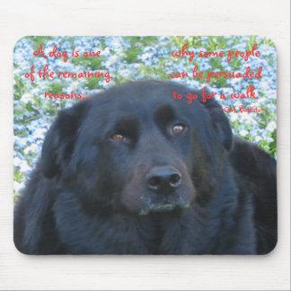 A Dog's Life...Walk Mouse Pad