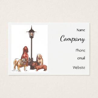 A Dog's World Business Card