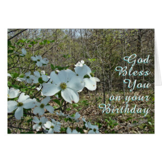 A Dogwood blooming-customize Greeting Card
