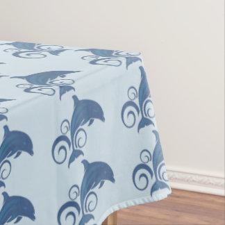 A Dolphin Tablecloth