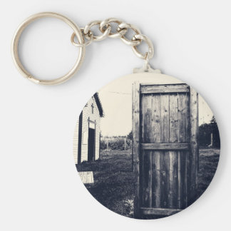 A Door To The Past Basic Round Button Key Ring