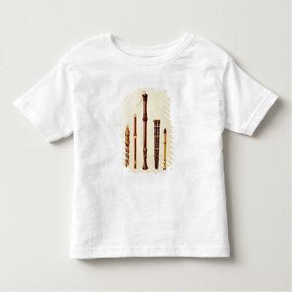 A double flageolet, a German flute, a bass recorde Toddler T-Shirt