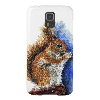 A Douglas Squirrel, watercolor pencil Galaxy S5 Case