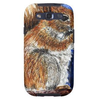 A Douglas Squirrel watercolor pencil Samsung Galaxy SIII Covers