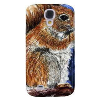 A Douglas Squirrel, watercolor pencil Galaxy S4 Cover