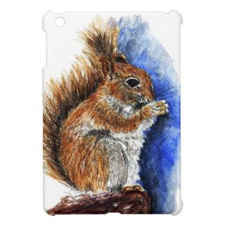 A Douglas Squirrel watercolor pencil Case For The iPad Mini