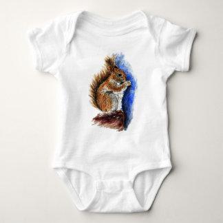 A Douglas Squirrel, watercolor pencil Tshirt