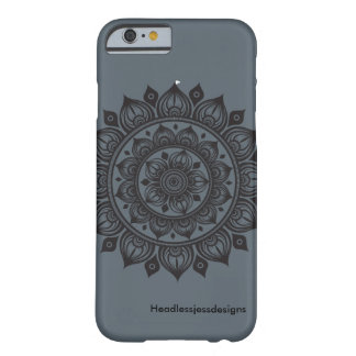 A Dozen Onions Mandala iPhone Case Charcoal Grey