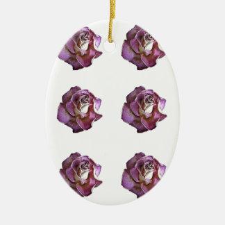 A Dozen Roses Ceramic Oval Decoration