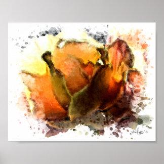 "A Dozen Roses Series VIII 8""x10"" Canvas Print"