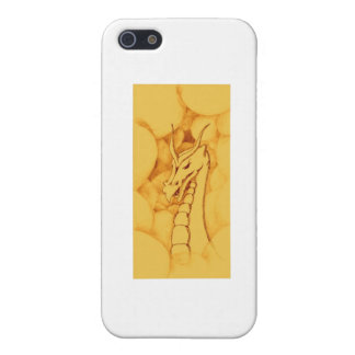 A Dragon Wreathed in Smoke (Bronze) Case For The iPhone 5