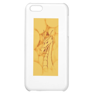 A Dragon Wreathed in Smoke (Bronze) iPhone 5C Cover