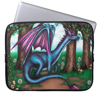 A Dragon's Sanctuary Laptop Sleeve