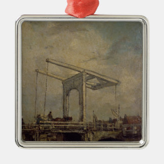 A Drawbridge in a Dutch Town, 1875 Christmas Ornament
