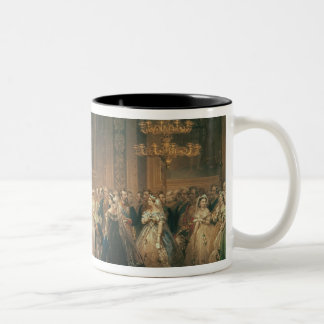 A Drawing Room at St. James's Palace Two-Tone Coffee Mug