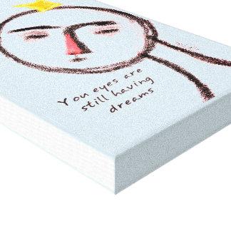 A Dream Canvas Print