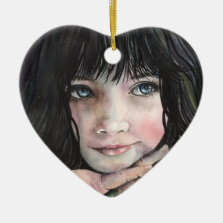 A dream is a wish.... ceramic heart decoration