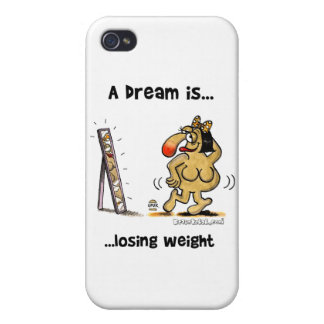 A Dream Is... Losing Weight iPhone 4/4S Covers
