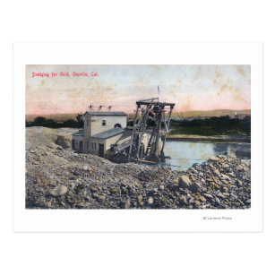 Gold Dredge Postcards | Zazzle UK
