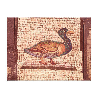 A Duck, detail from Orpheus Charming the Animals Canvas Print