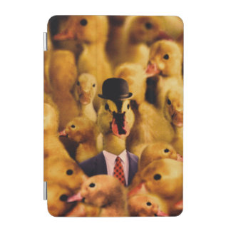A Duck In A Bowler Hat And Suit And Tie iPad Mini Cover