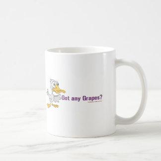 A duck walks into a bar... basic white mug