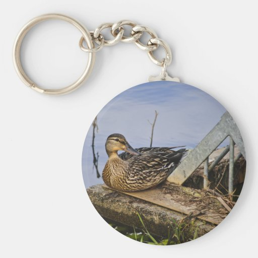 A Duck With Style Key Chains