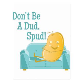 A Dud Spud Postcard