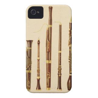 A dulcian, an oboe, a bassoon, an oboe da caccia a iPhone 4 Case-Mate case