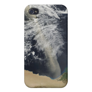 A dust plume cover for iPhone 4