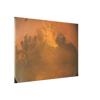 A Dust Storm on Mars Gallery Wrapped Canvas