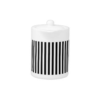 A Elegant Black and White Modern Stripes