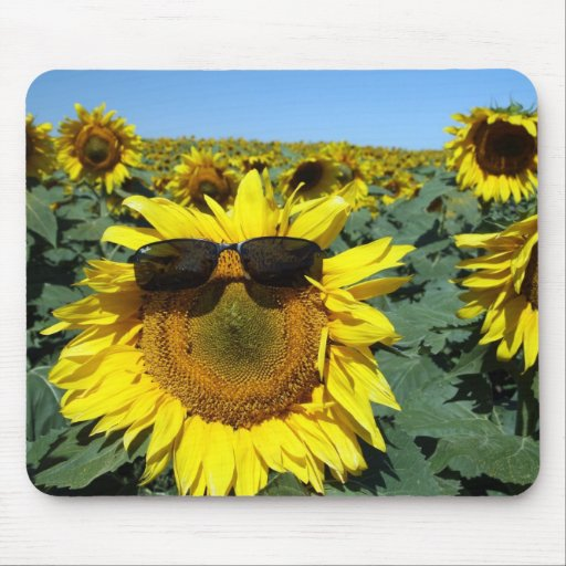 A Face in the Crowd Mouse Mat