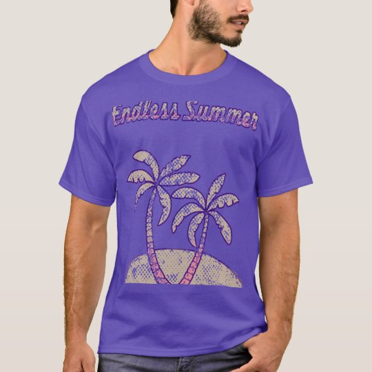 A faded retro coloured Endless Summer T-Shirt