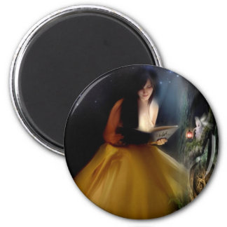 A Faeries Tale 6 Cm Round Magnet