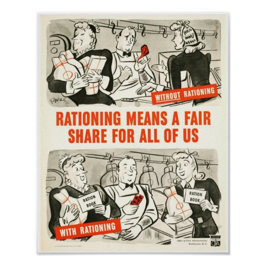 A fair Share Poster