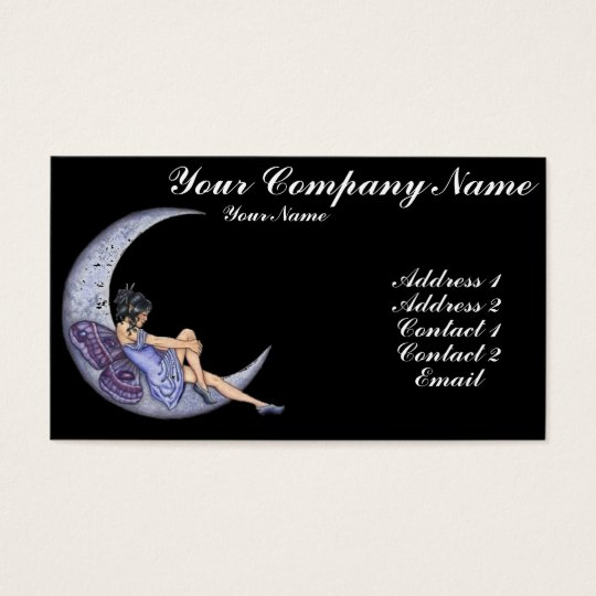 A Fairy Moon Business Card