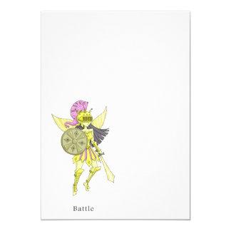 A fairy named Battle 13 Cm X 18 Cm Invitation Card